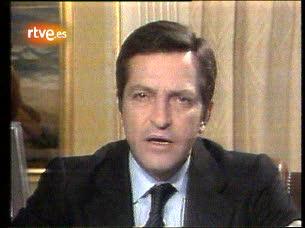 Dimisión de Adolfo Suárez como presidente del Gobierno en 1981