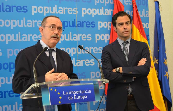 Dimite Enrique Martín como presidente del PP de Navarra