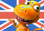Imagen de un episodio de Dino Tren en inglés