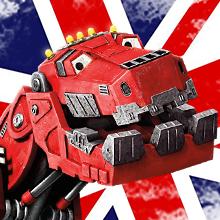 Dinotrux en inglés