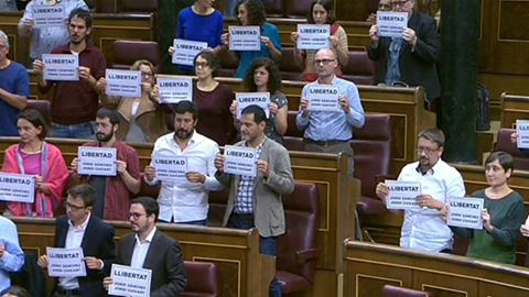 Protesta en el Congreso
