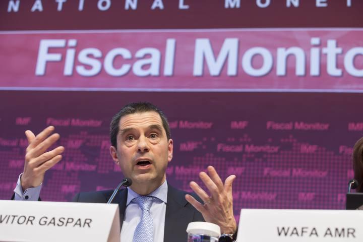 El director del Departamento de Asuntos Fiscales del FMI, Vitor Gaspar