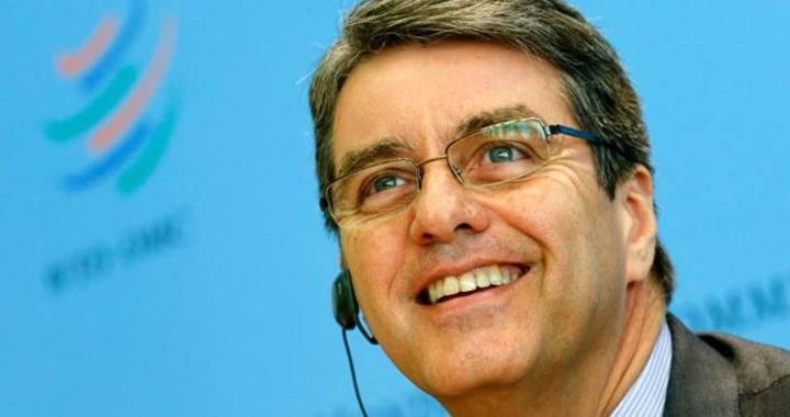 El director general de la OMC, el brasileño Roberto Azevedo