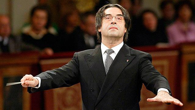 El director de orquesta Riccard