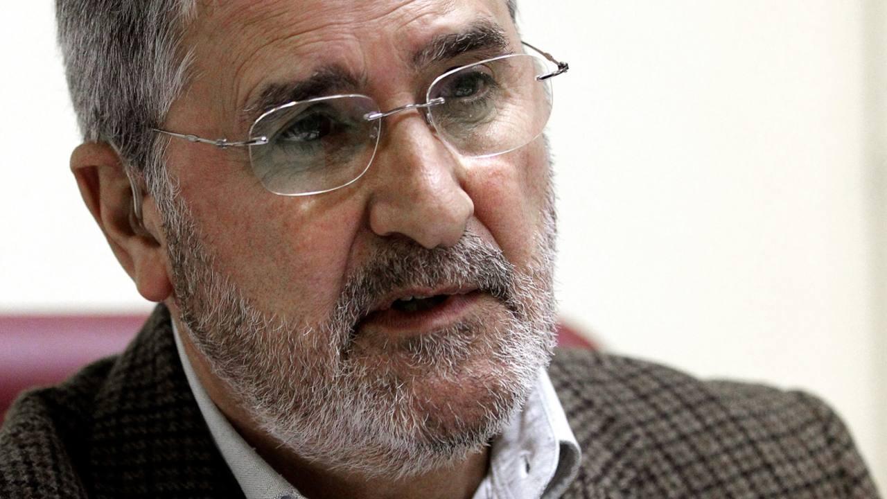 El director de la Residencia Internado San Ildefonso, Esperato Fernández