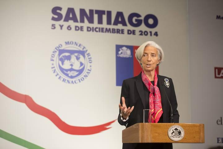 La directora gerente del Fondo Monetario Internacional (FMI), Christine Lagarde