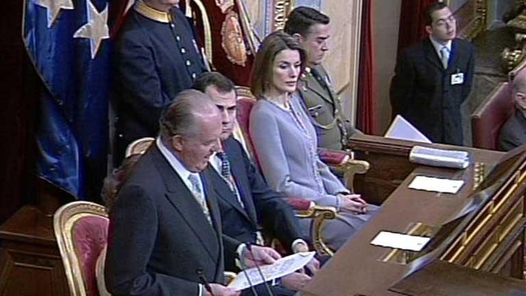 Discurso de Apertura de las Cortes Generales (16/04/2008)