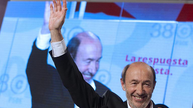 Discurso íntegro de Alfredo Pérez Rubalcaba tras ganar a Carme Chacón