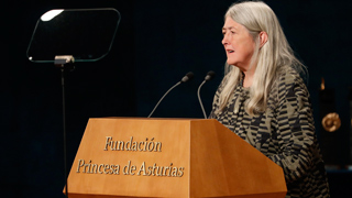 Discurso íntegro de Mary Beard, Premio Princesa de Asturias de Ciencias Sociales