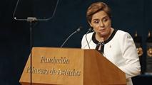 Ir al VideoDiscurso íntegro de Patricia Espinosa por el Premio Princesa de Asturias de Cooperación