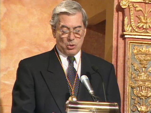 Discurso Mario Vargas Llosa, Premio Cervantes 1994