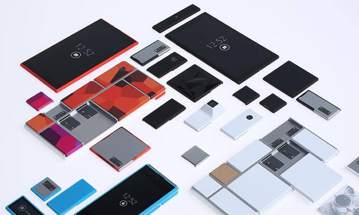El dispositivo de Project Ara, un móvil modular.