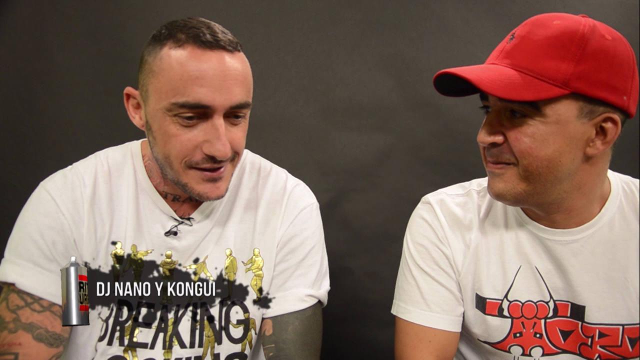 Dj Nano, uno de los mejores dj's del mundo, entrevistado por Kongui, grafitero pionero. Una conversación sobre la Vieja Escuela
