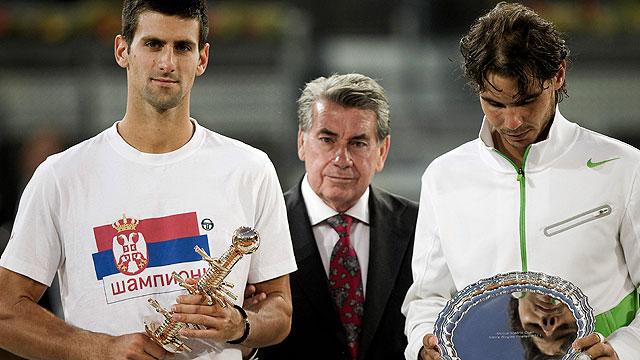 Djokovic amenaza el número uno de Nadal