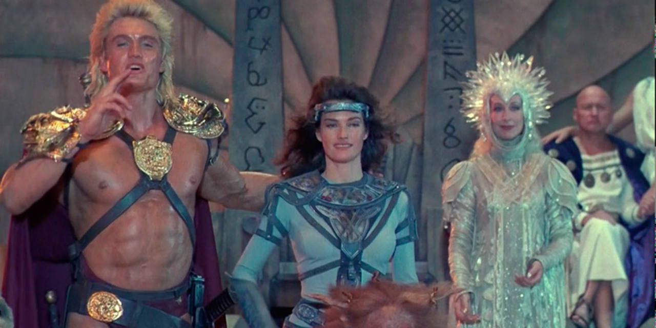 Dolph Lundgren fue He-Man en la adaptación de 'Masters del Universo'