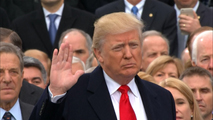 Donald Trump jura y toma posesión como 45 presidente de los EE.UU.