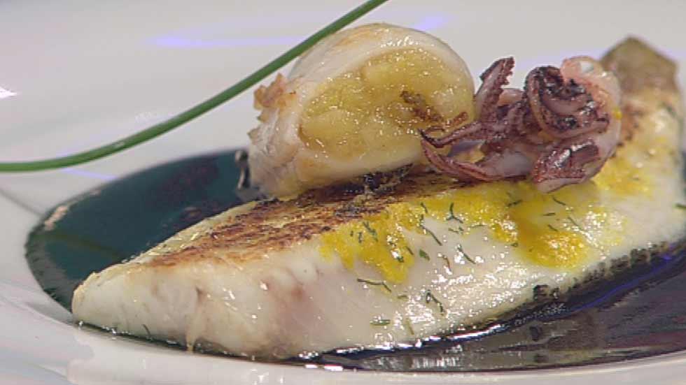 Cocina con Sergio - Dorada en tinta de calamar - ver ahora
