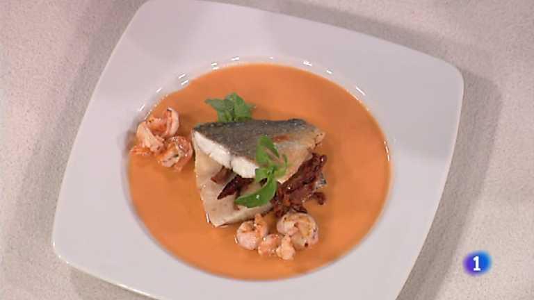 Cocina con Sergio - Doradas a la plancha con salsa de marisco