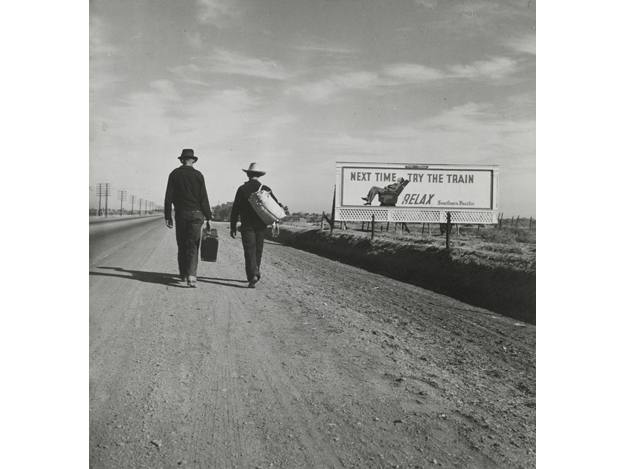 "Dorothea Lange, ""On the Road to Los Angeles, California"". (1937)"
