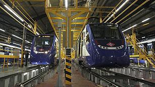 Dos muertos y dos heridos al chocar un tren en las cocheras de Metro de Madrid