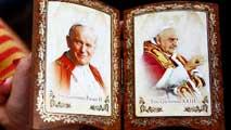 Ir al VideoDos papas diferentes, Juan XIII, el casero y Juan Pablo II, más viajero