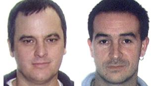 En Gipúzkoa, la Guardia Civil ha detenido a dos presuntos etarras no fichados por la policía
