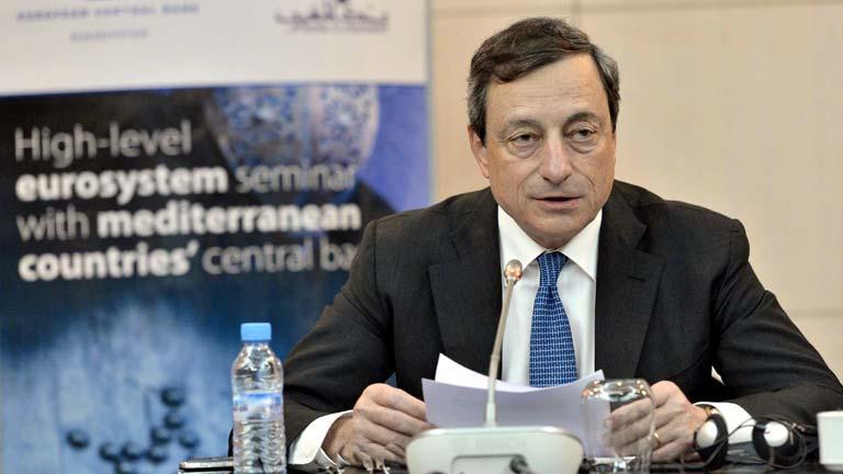 """Draghi: """"El BCE hará todo lo necesario para defender el euro"""""""