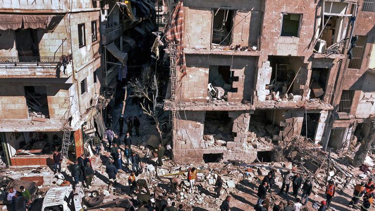 La Cruz Roja alerta del empeoramiento de la ya dramática situación de la población civil en Siria