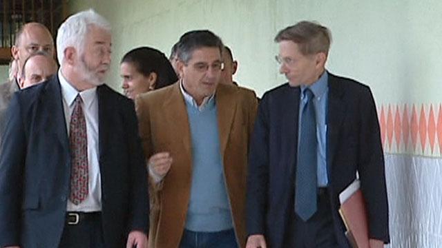 Bill Drayton con emprendedores en la prisión de Villabona