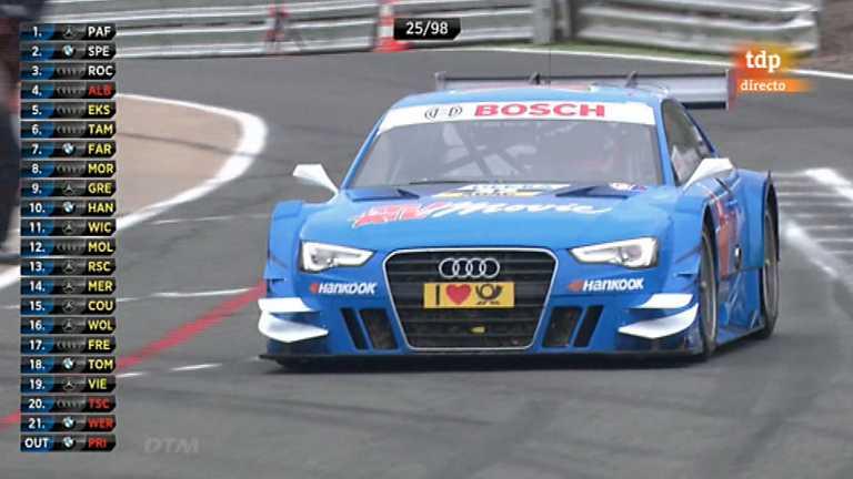 Automovilismo - DTM 2012. 3ª prueba