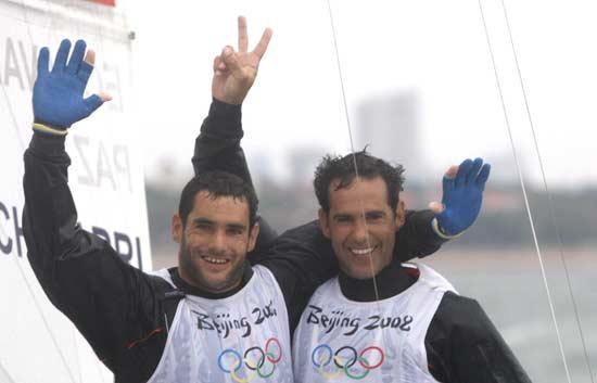 Echávarri y Antón, oro en clase 'Tornado'