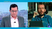 """Video: Echenique, sobre el referéndum catalán: """"Yo no participaría porque es una consulta sin garantías"""""""