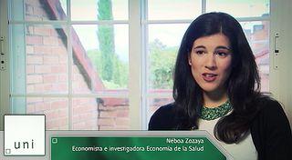 UNED - Economistas en primera persona. Néboa Zozaya - 03/06/16