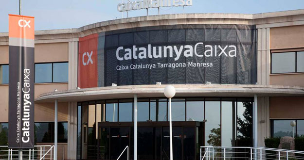 Edificio corporativo de CatalunyaCaixa en Manresa