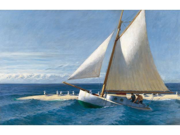 """Edward Hopper, """"El Martha Mackeena de Wellfleet"""" (1944)"""