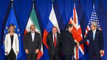 Ir al VideoLa UE y EE.UU. alcanzan un acuerdo con Irán sobre su programa nuclear