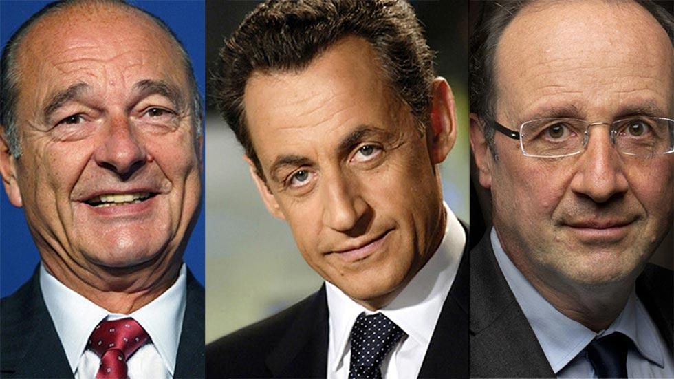 EE.UU. espió a los presidentes franceses Chirac, Sarkozy y Hollande, según documentos de Wikileaks