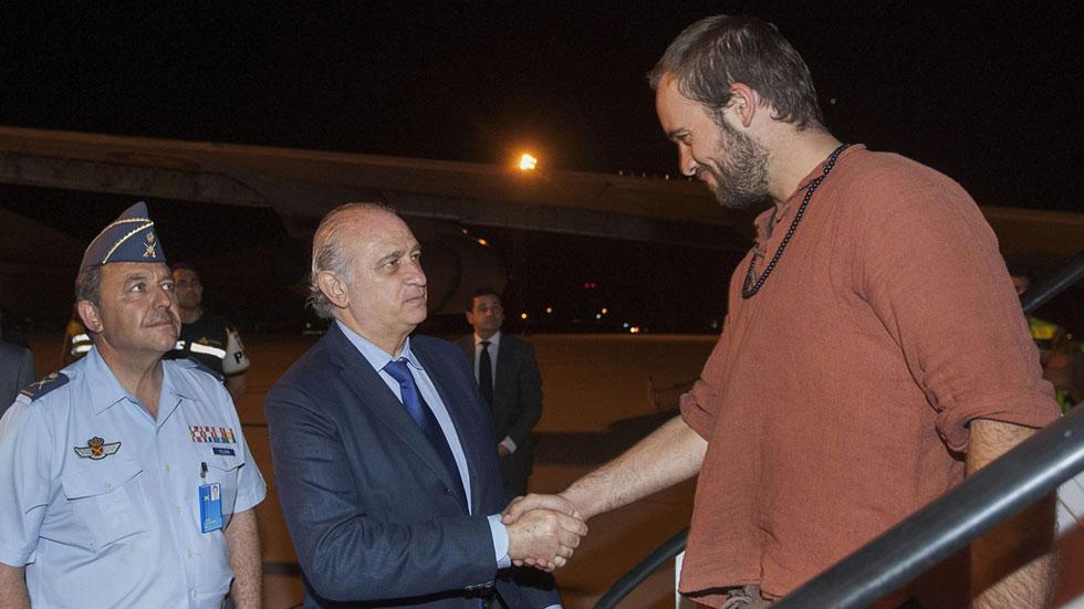Los efectivos de emergencias españoles vuelven a casa horas antes del nuevo seísmo de hoy