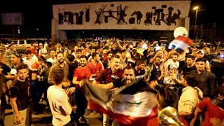 El ejército iraquí celebra la victoria en Mosul sobre los yihadistas del Estado Islámico