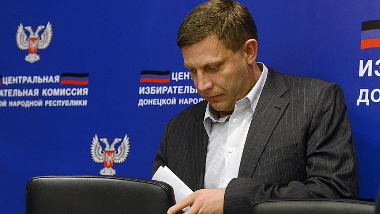 El separatista primer ministro de Donetsk gana las elecciones presidenciales