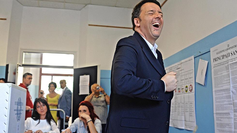 Renzi tropieza en las regionales italianas ante el empuje de la Liga Norte y Movimiento 5 Estrellas