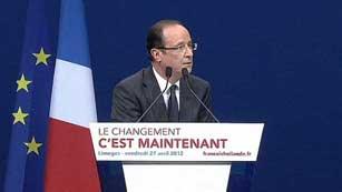 Sarkozy recorta la distancia al socialista Hollande