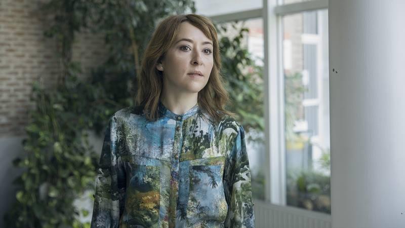Elena Alférez, en el papel de secretaria en 'Si fueras tú'