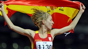 Elena Congost, plata en 1.500 metros