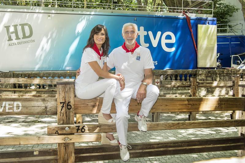 Elena S. Sánchez y Javier Solano, juntos de nuevo al frente de la programación especial de San Fermín