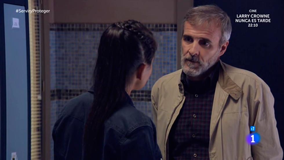 Servir y proteger - Elías descubre el plan de Osorio y Nacha
