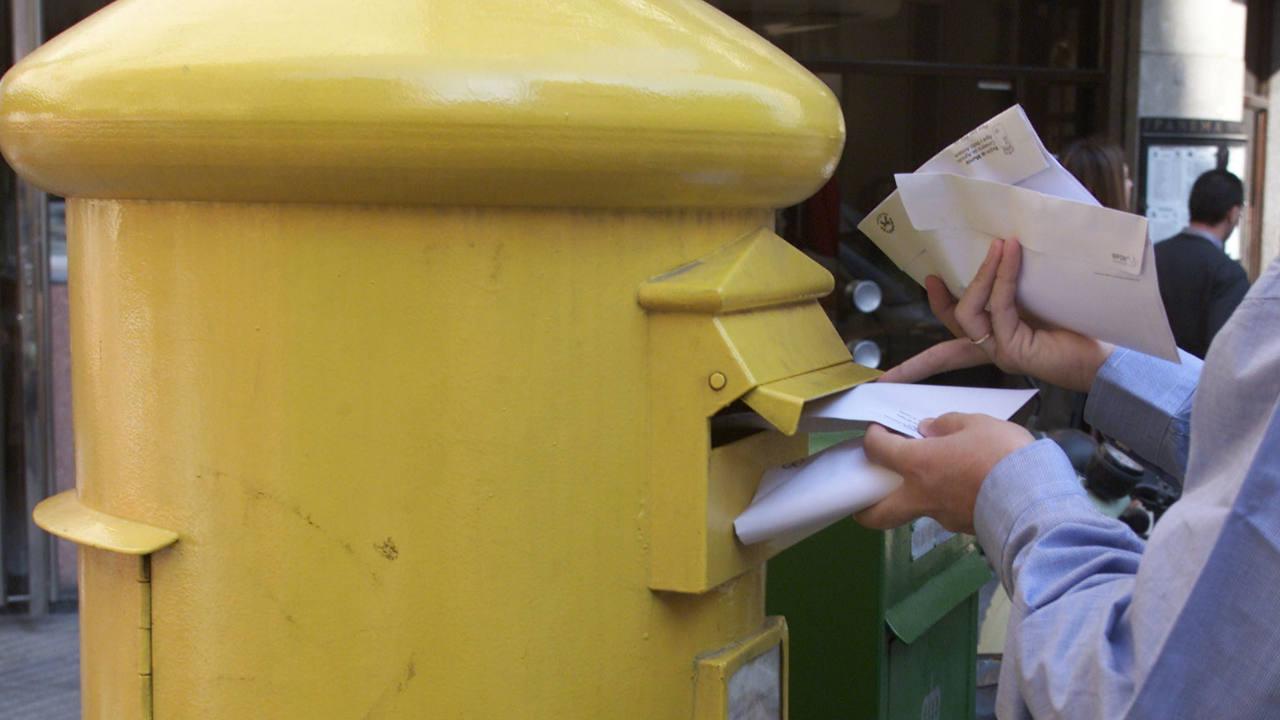 Emblemático buzón de correos