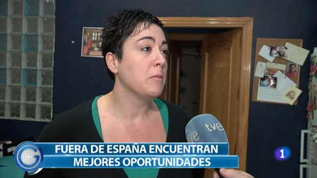 Más Gente - Los jóvenes titulados emigran para encontrar trabajo