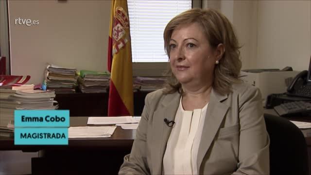 """Ir al VideoEmma Cobo, magistrada: """"Hay que diseñar el modelo de justicia"""""""