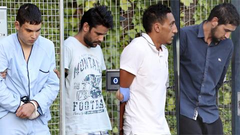 Empiezan a declarar ante el juez los cuatro detenidos en relación con el doble atentado de Cataluña